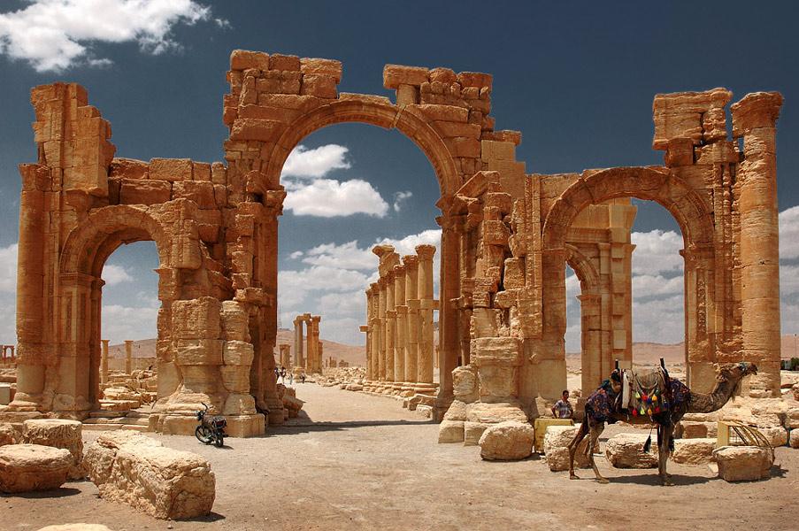 Археологи из Крыма будут восстанавливать триумфальную арку в Сирии