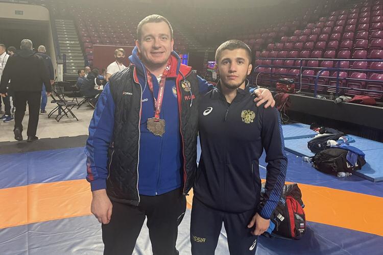 Крымский борец выиграл чемпионат Европы