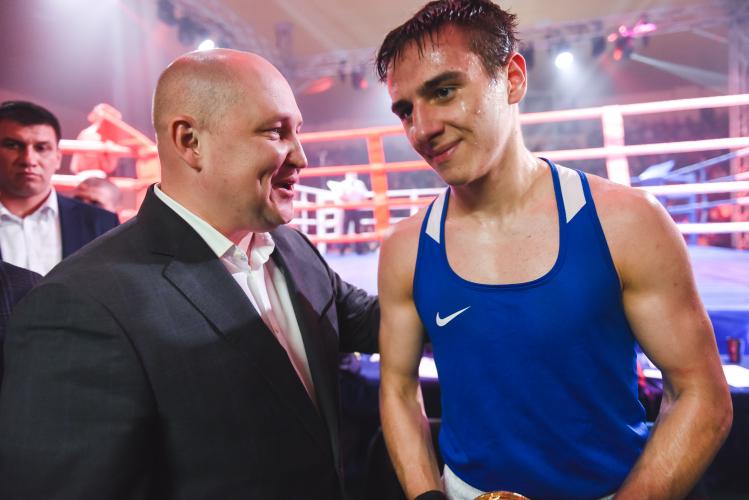 Сборная Севастополя по боксу одержала победу над москвичами