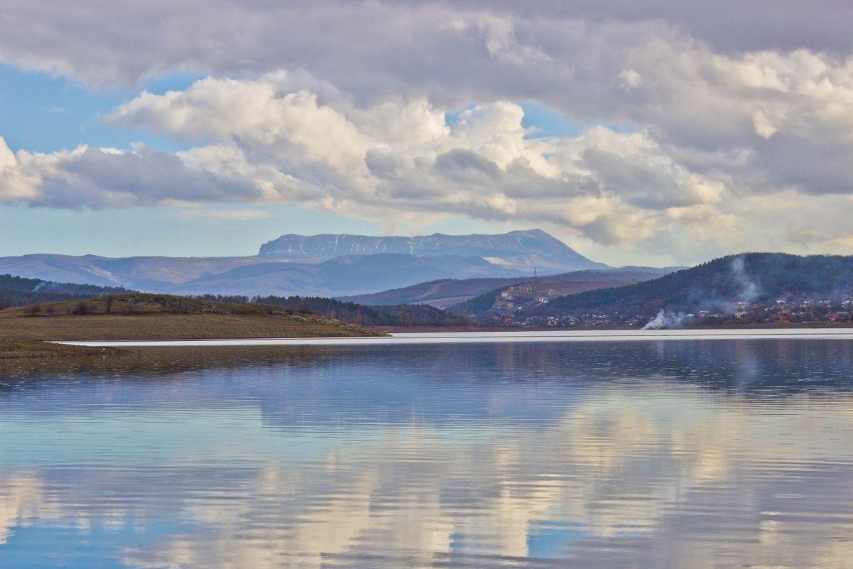 Сколько воды накопилось в водохранилищах Симферополя