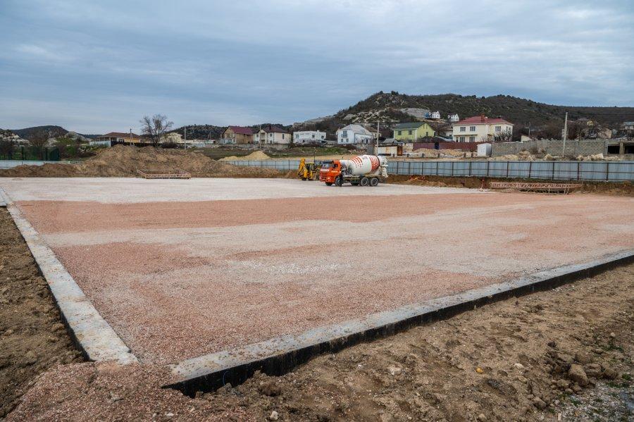 Строительство стадиона в Инкермане завершат к сентябрю