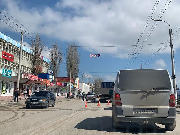 В Крыму грузовик насмерть сбил мужчину