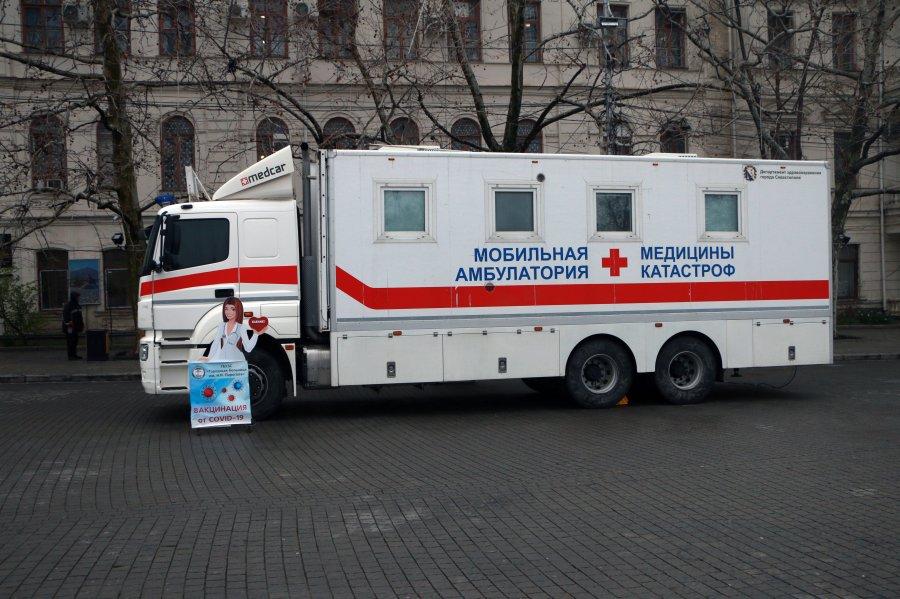 В Крыму мобильные пункты вакцинации от Covid-19 будут приезжать в села и на предприятия