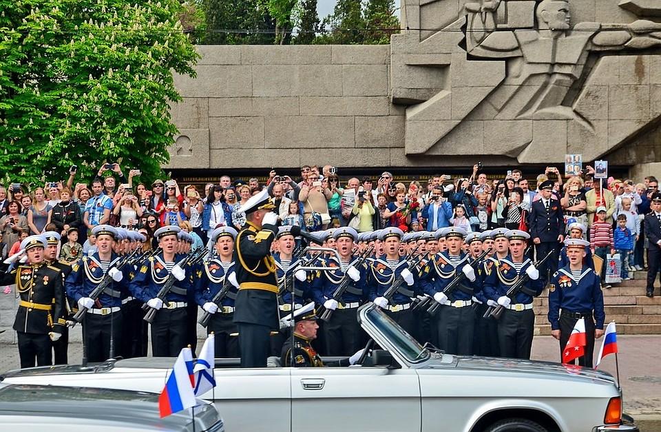 В Севастополе началась подготовка ко Дню Победы