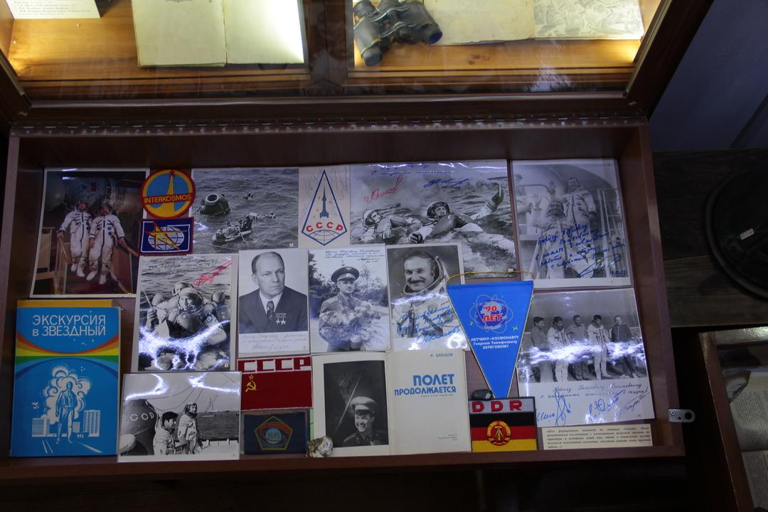 В Коктебеле открыли выставку, посвященную Дню космонавтики