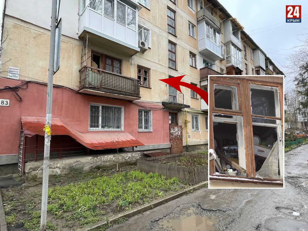 «На потолке выступил трупный яд»: в Симферополе умер старик, заваливший свою квартиру мусором