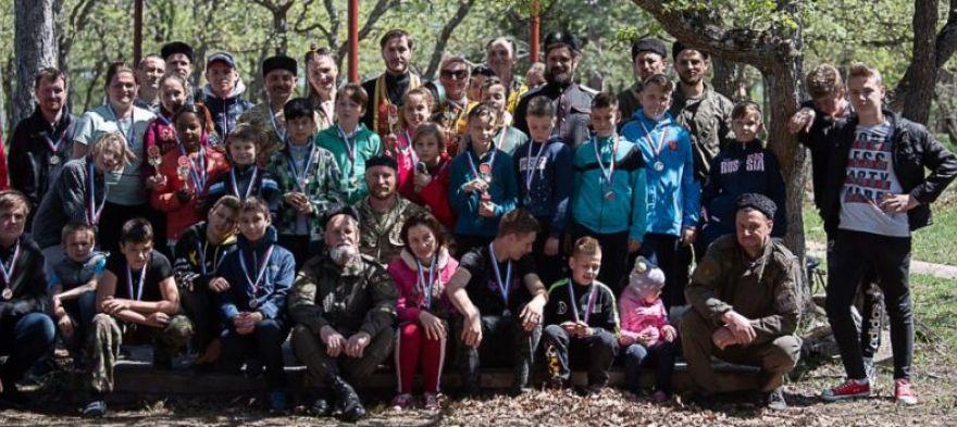 Конкурс «За други своя» на Казачьей горке (фото)