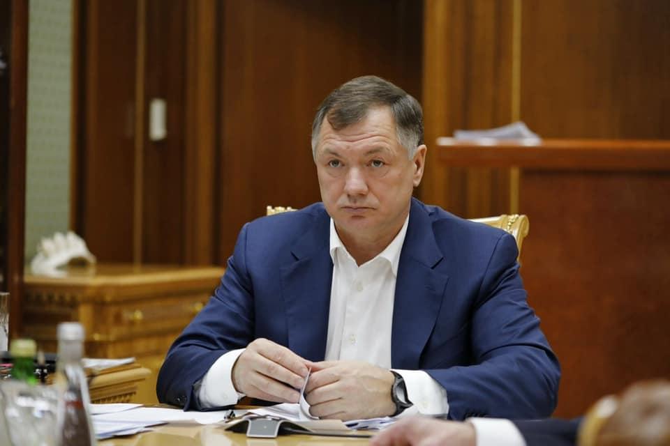 Марат Хуснуллин прибыл в Крым с проверкой: начал с «Тавриды»