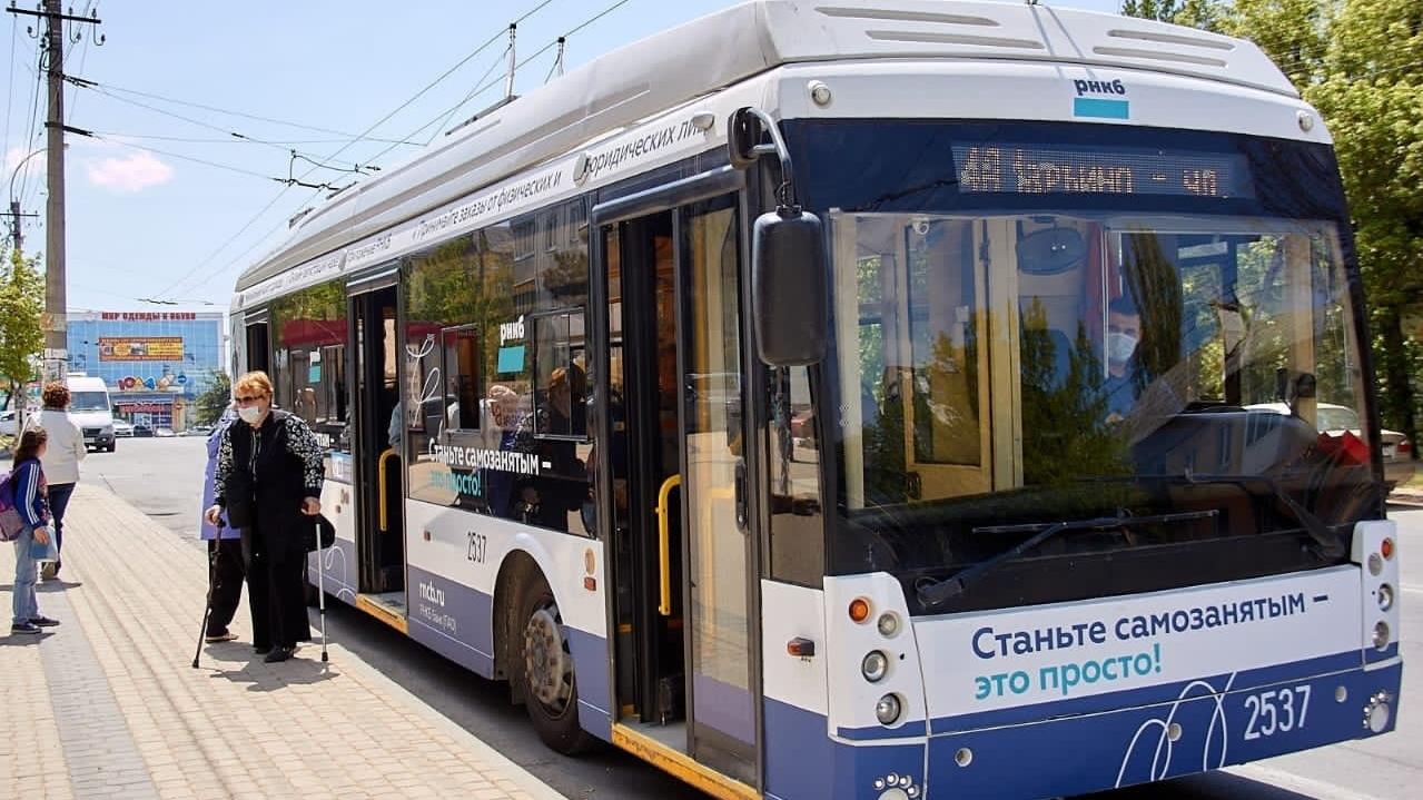 В Симферополе запустили новый троллейбусный маршрут