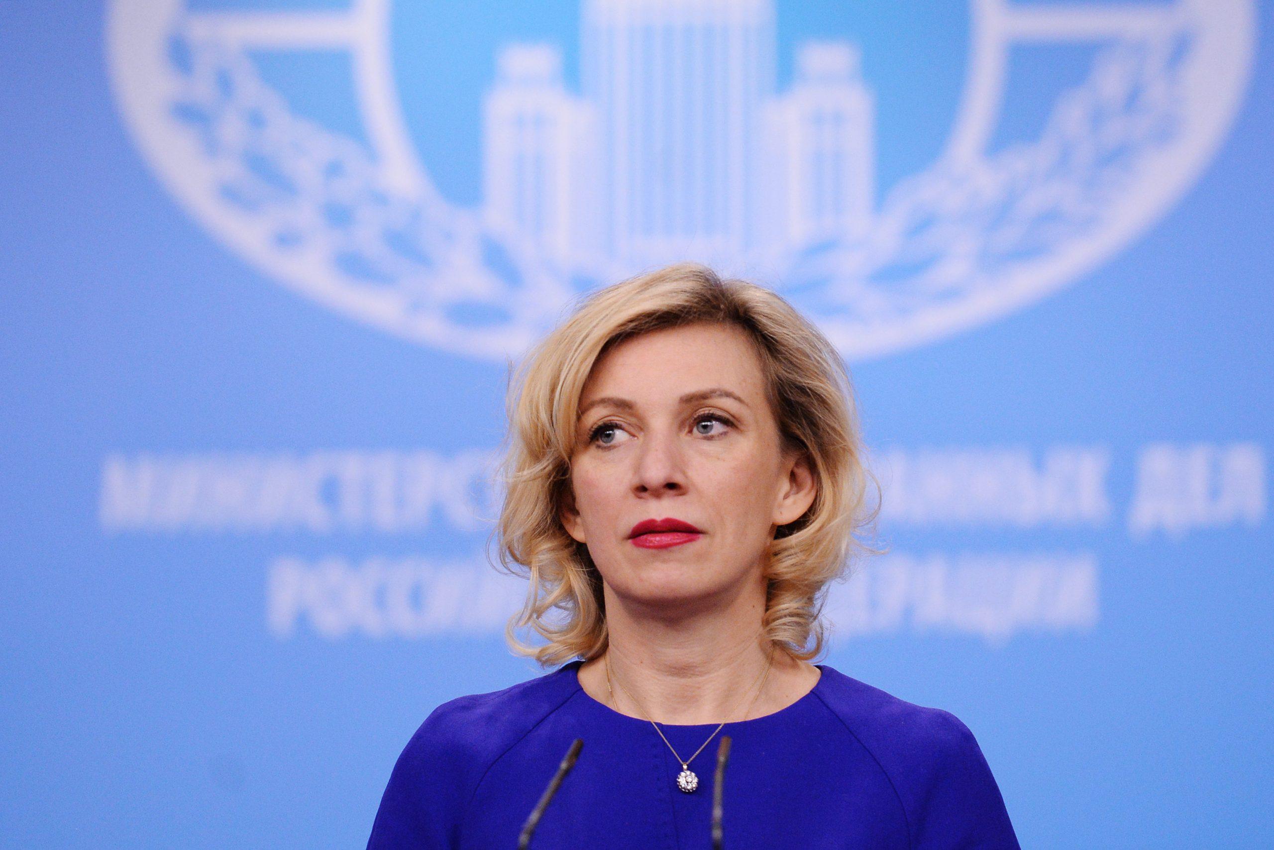 Захарова отреагировала на слова Зеленского о русских