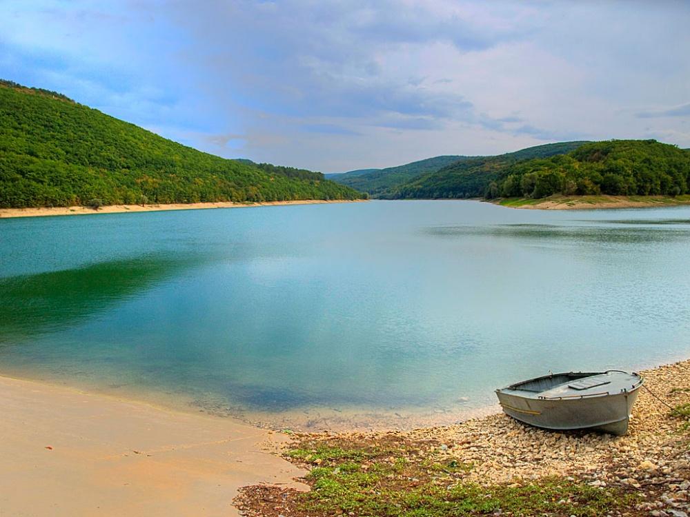 Крымские водохранилища начали наполняться водой