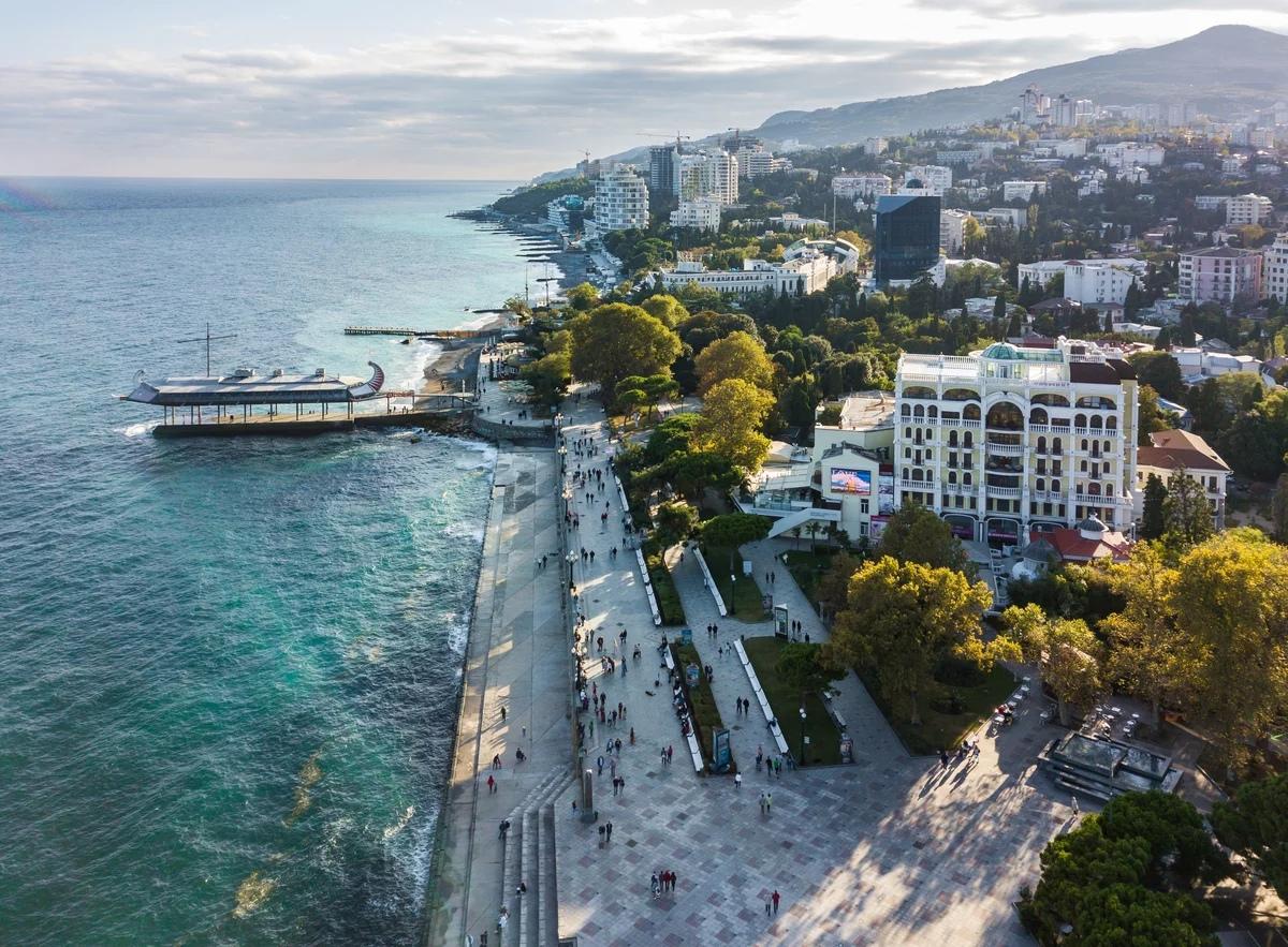 Какие города Крыма пользуются спросом у туристов