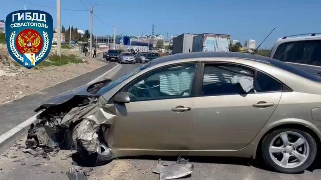В Севастополе пьяный водитель спровоцировал ДТП: пострадал ребенок