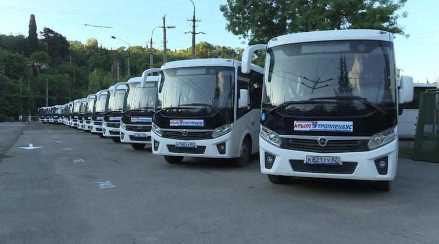 В Большой Ялте будут курсировать 28 новых автобусов
