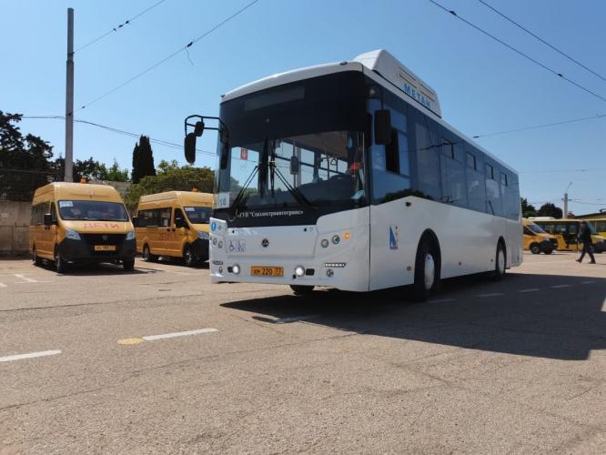 В Севастополе выбрали лучших водителей автобусов