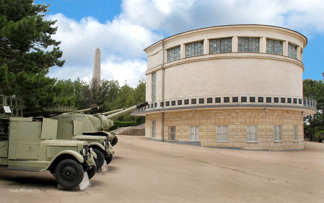 В Севастополе отреставрируют здание диорамы