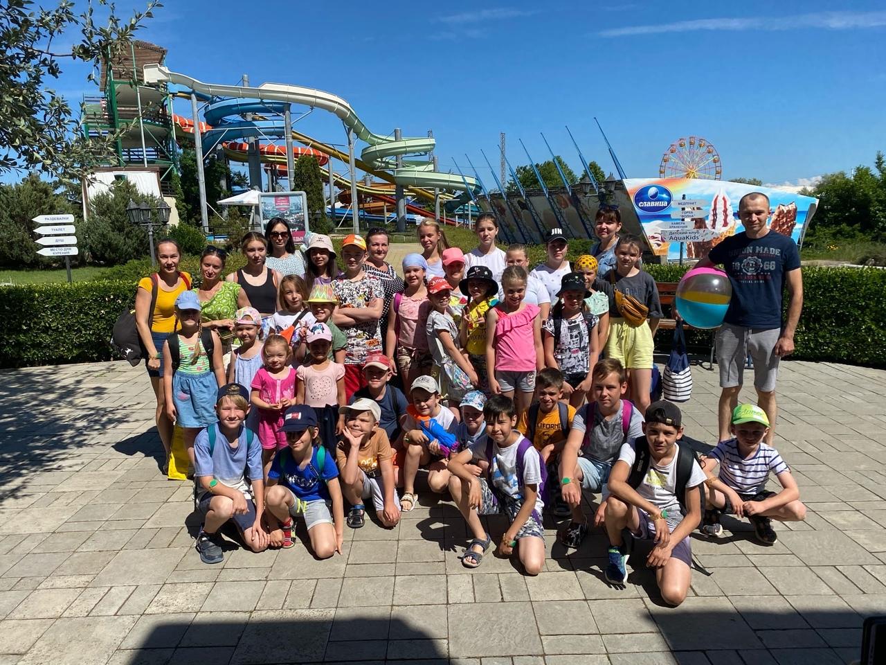 Аквапарк «Зурбаган» в очередной раз дарит радость детям