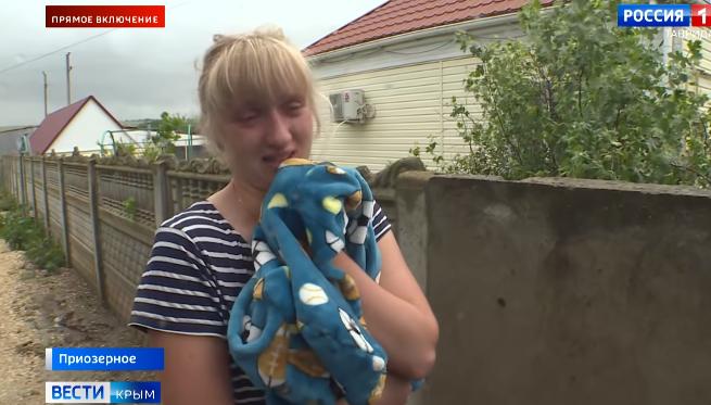 «Три часа простояли в воде»: в затопленном крымском селе спасли мать с детьми