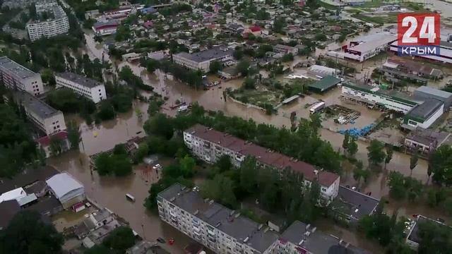 Крымчане, чьи дома уничтожила стихия, получат новое жилье