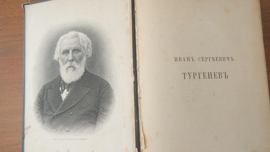Из Крыма пытались вывезти раритетную книгу Тургенева