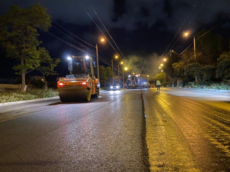 В Севастополе завершается ремонт проспекта Героев Сталинграда