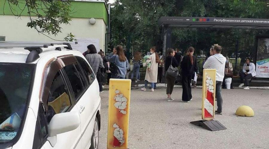 В Симферополе после звонка эвакуировали детскую больницу