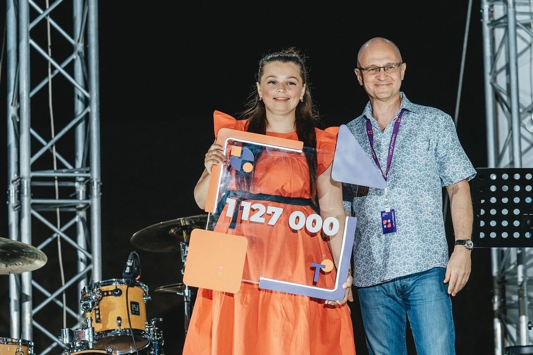 Крымчанка во второй раз выиграла крупную сумму на развитие села