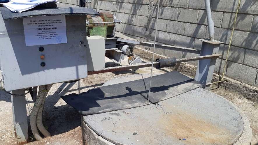 Севастопольские предприниматели самовольно пользовались недрами для производства бетона