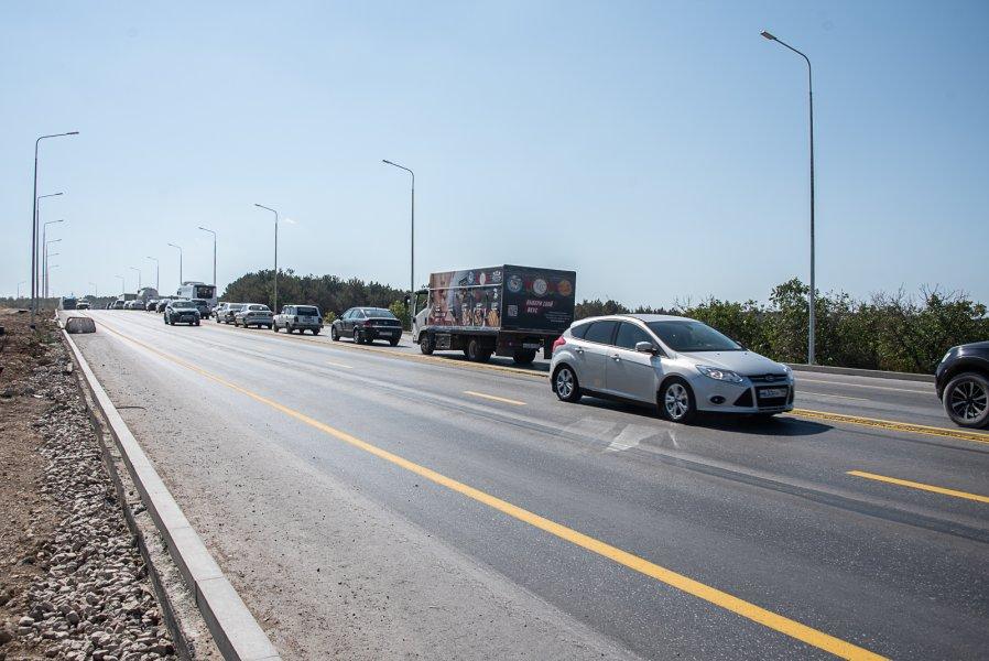 В Севастополе на Камышовом шоссе ограничат проезд