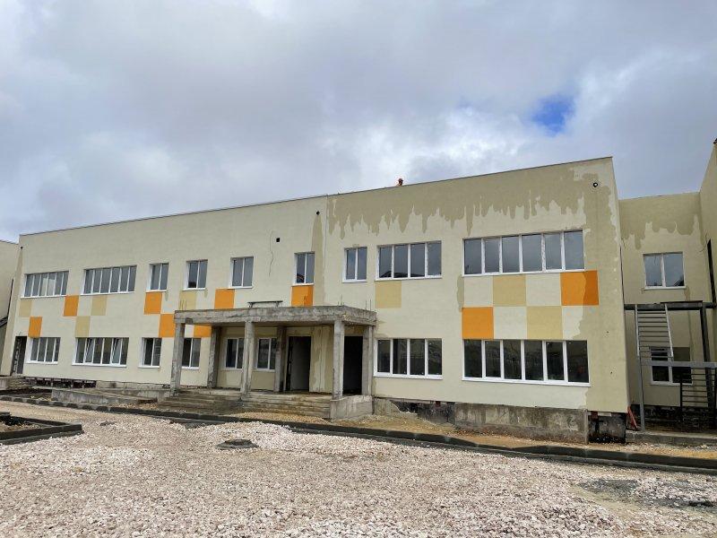 В Севастополе детский сад на Шевченко готов на 75%