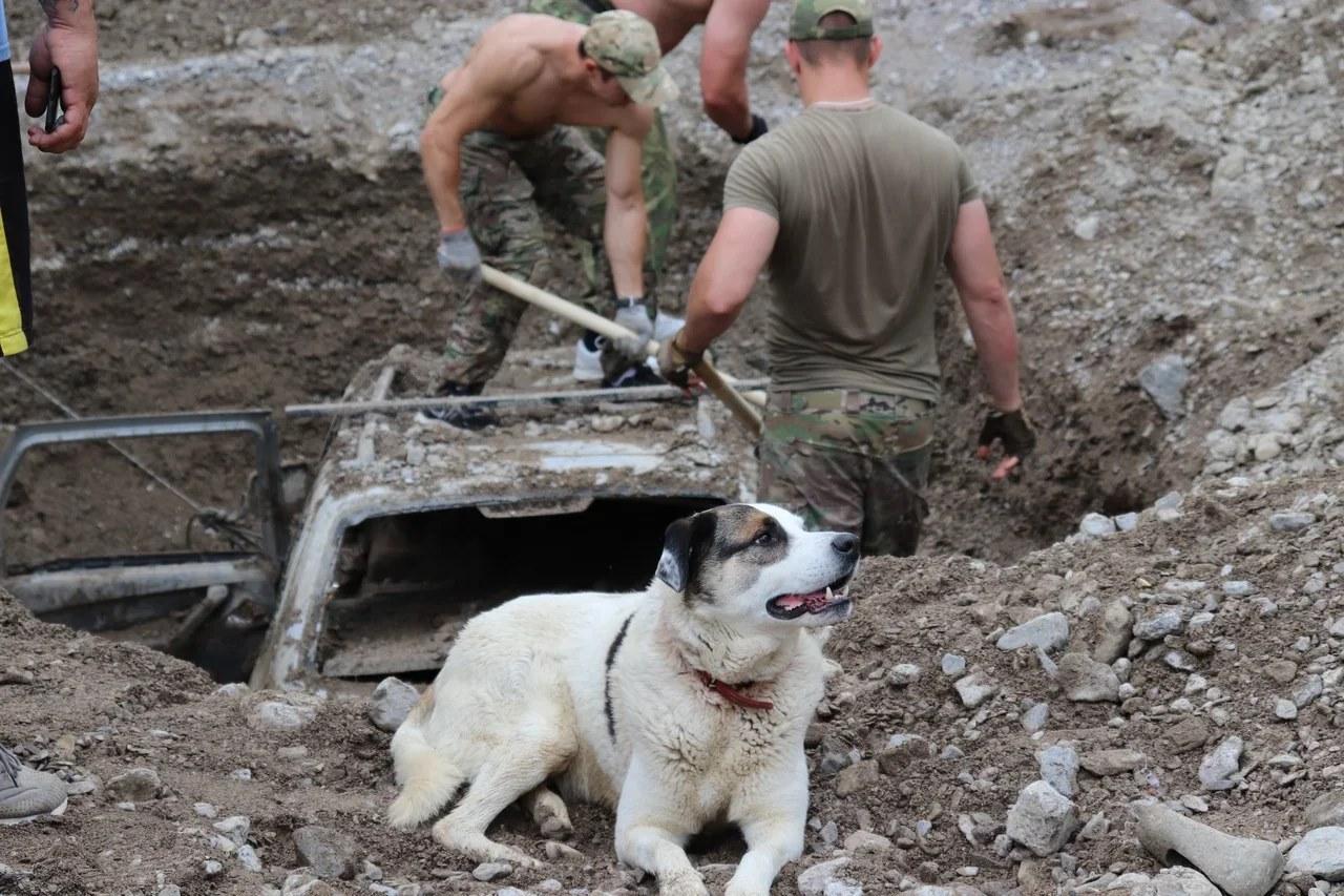 Военные закончили основные работы по ликвидации последствий потопа в Крыму