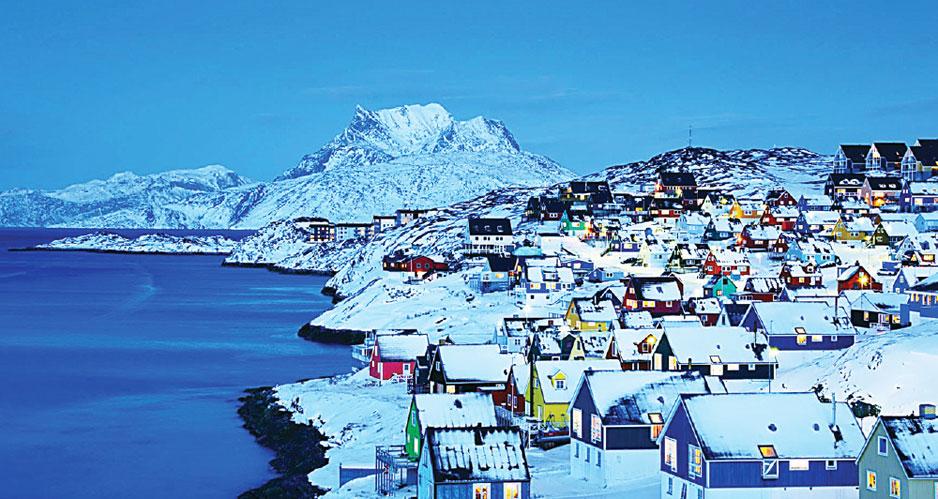 Гренландия отказалась от добычи нефти, газа и урана на своей территории