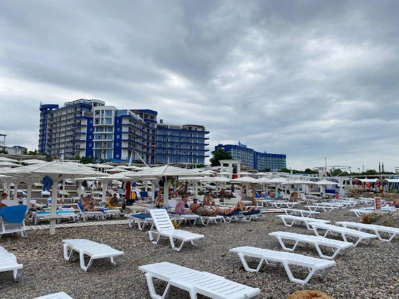 Пляж «Аквамарин»: высокий уровень чистоты и безопасности (видео)