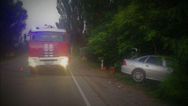 В Крыму при столкновении легковушки и грузового авто пострадали дети