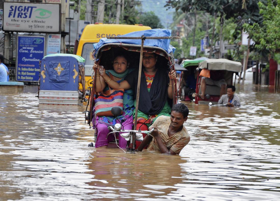 В Индии из-за сильных дождей погибли 47 человек