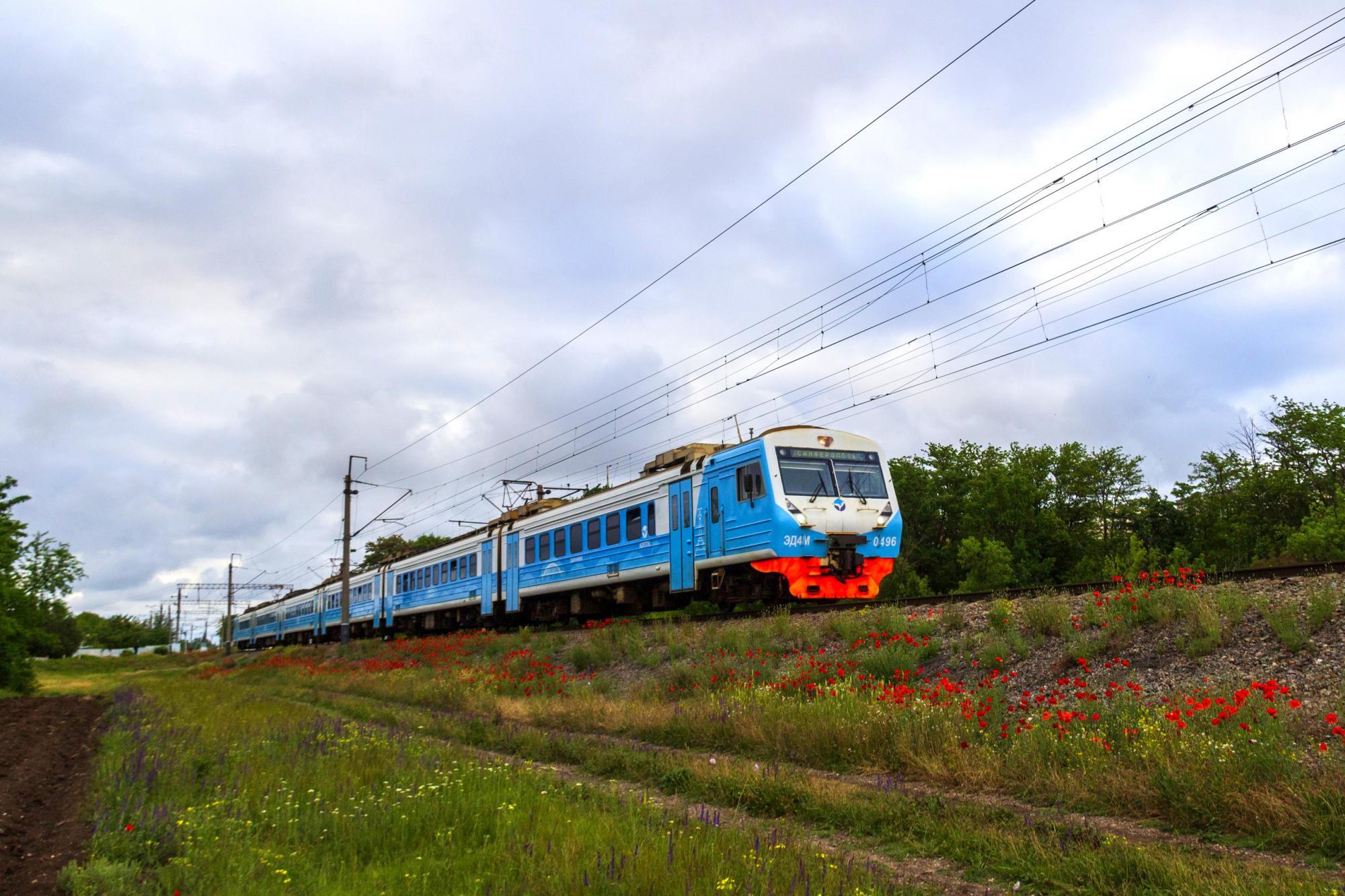 В пригородных поездах Крыма появился бесплатный Wi-Fi