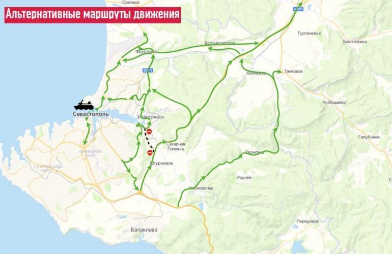 Движение по ул. Чернореченской в Севастополе ограничат из-за строительства «Тавриды»