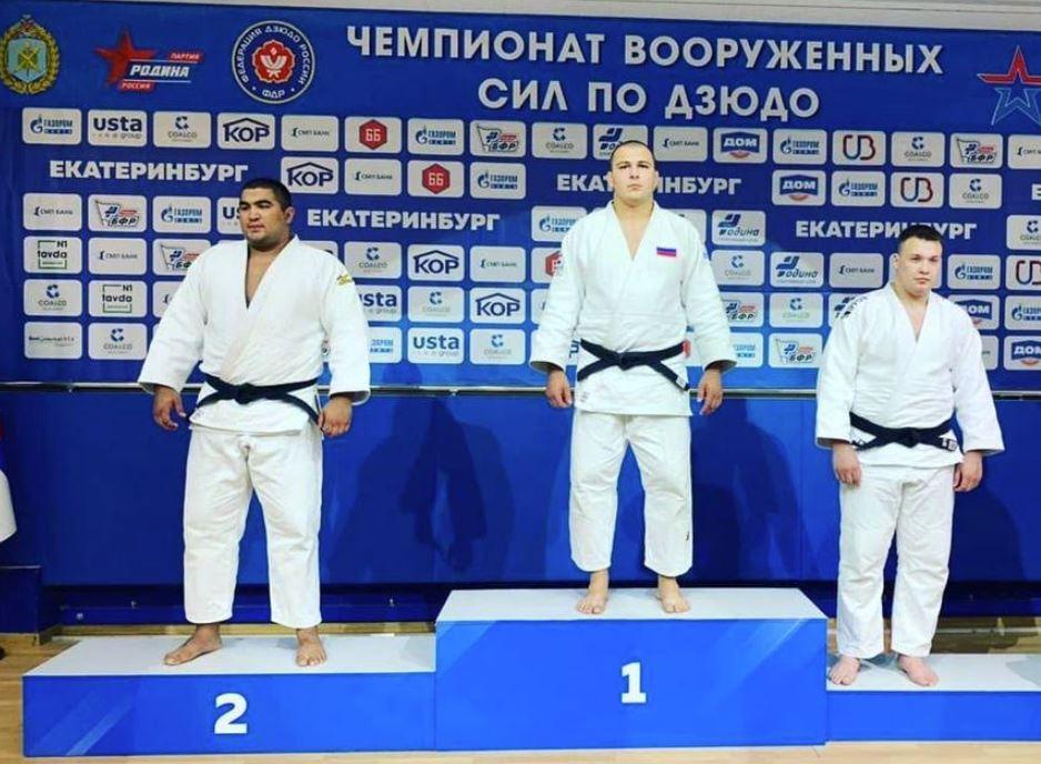 Военнослужащий Черноморского флота завоевал «золото» чемпионата Вооруженных сил