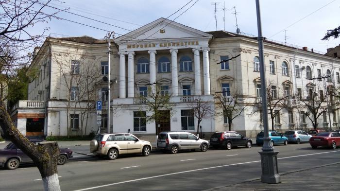 В Морской библиотеке Черноморского флота создан общественный совет