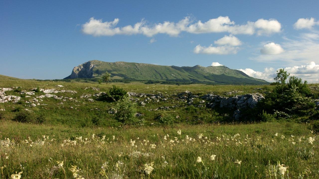 В Крыму мужчина сорвался с горы Чатыр-Даг и повредил позвоночник