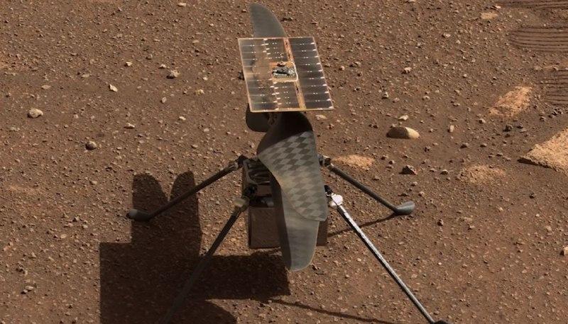 Ingenuity преодолел на Марсе рекордное расстояние