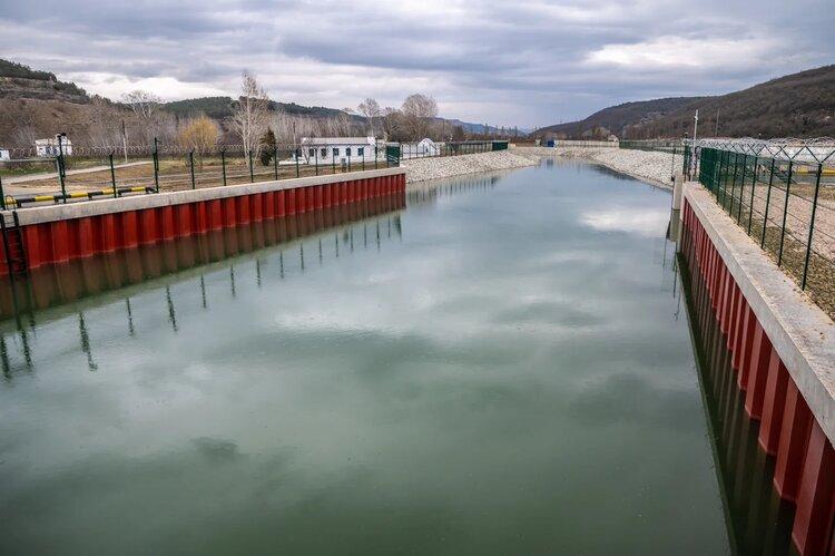 Водозабор на Бельбеке выдержал мощный паводок