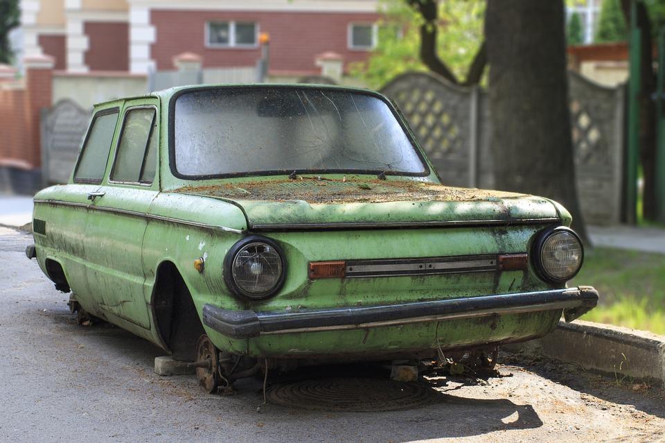В Сакском районе злоумышленник украл «Запорожец» и продал его на металлолом