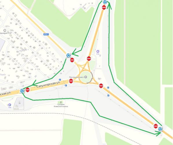 Севастопольское Ялтинское кольцо закроют на год для реконструкции