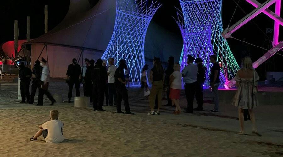 В Крыму остановили фестиваль Z.Fest, сменивший «КаZантип»