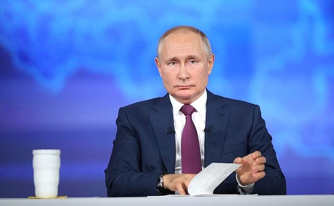 Путин выступил против навязывания вакцинации от ковида