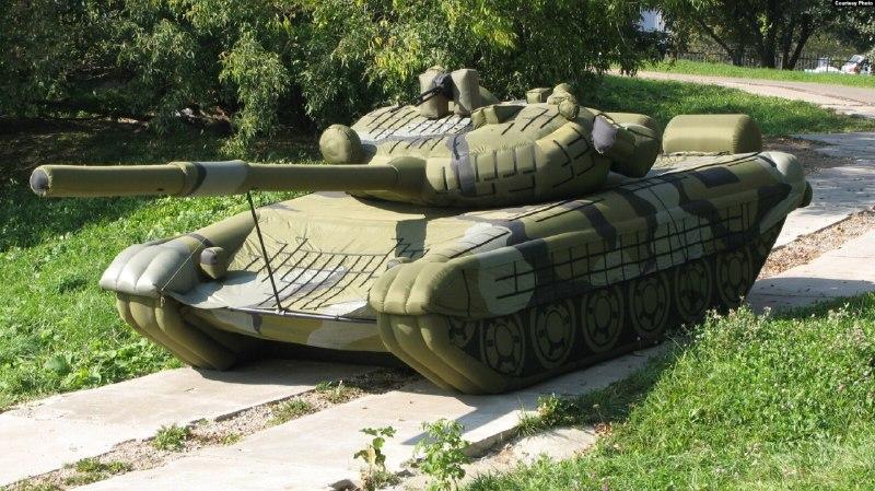 Минобороны России потратит почти 50 млн на надувные танки и ракеты