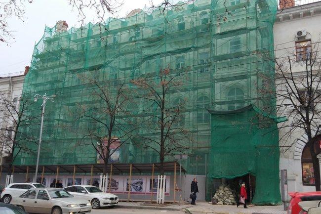 Возобновлен капремонт Севастопольского Художественного музея после длительного перерыва
