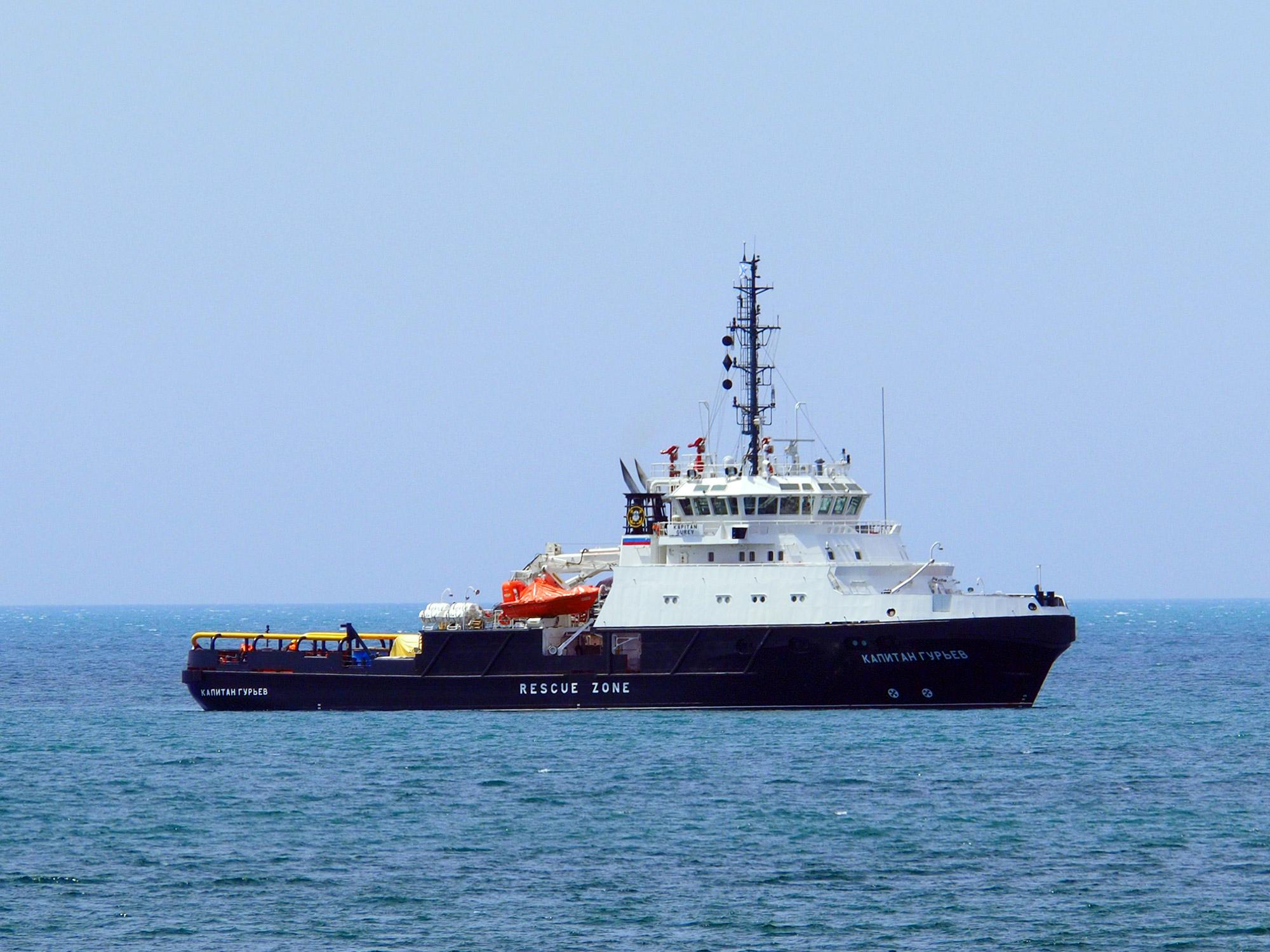 Спасательное судно Черноморского флота идет в Оманский залив со спортивными целями