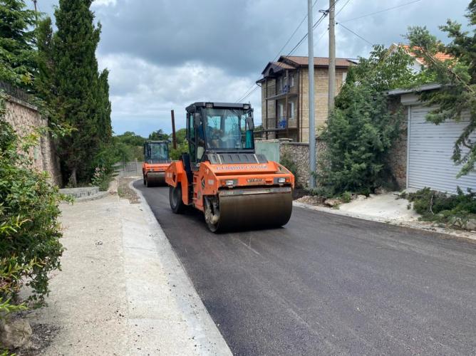В Севастополе на улице Железнякова ведутся строительно-монтажные работы